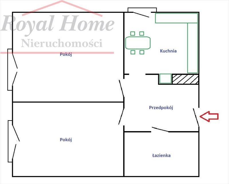 Mieszkanie dwupokojowe na sprzedaż Wrocław, Śródmieście, Śródmieście, Dubois  48m2 Foto 13