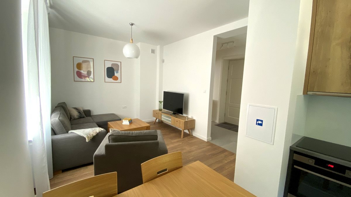 Mieszkanie dwupokojowe na wynajem Warszawa, Mokotów Górny, Ignacego Krasickiego  50m2 Foto 2