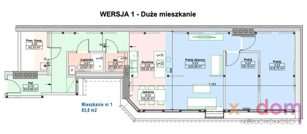 Mieszkanie czteropokojowe  na sprzedaż Kielce  80m2 Foto 8