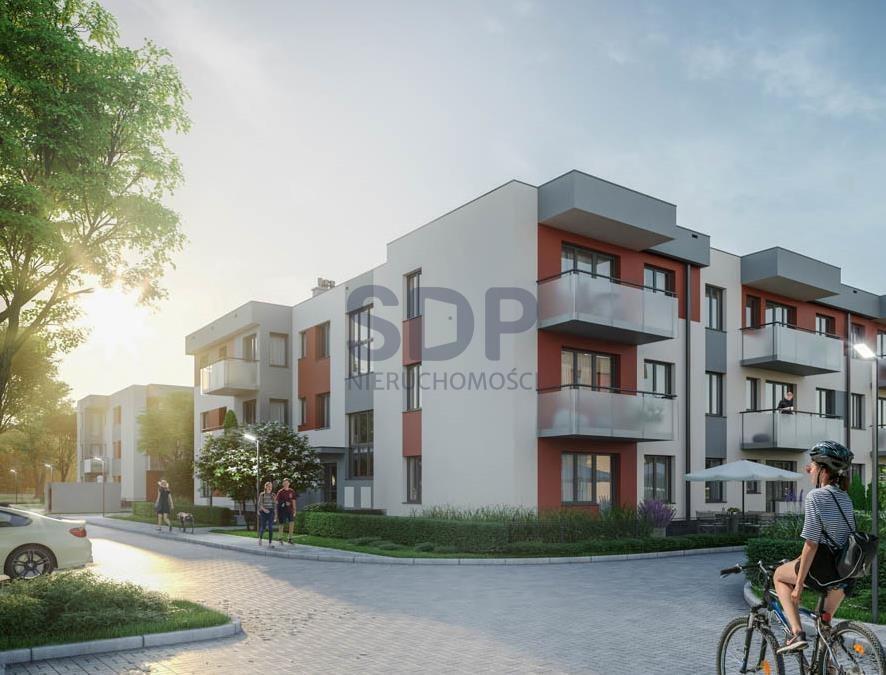 Mieszkanie dwupokojowe na sprzedaż Wrocław, Psie Pole, Wojnów, Perkusyjna  49m2 Foto 1