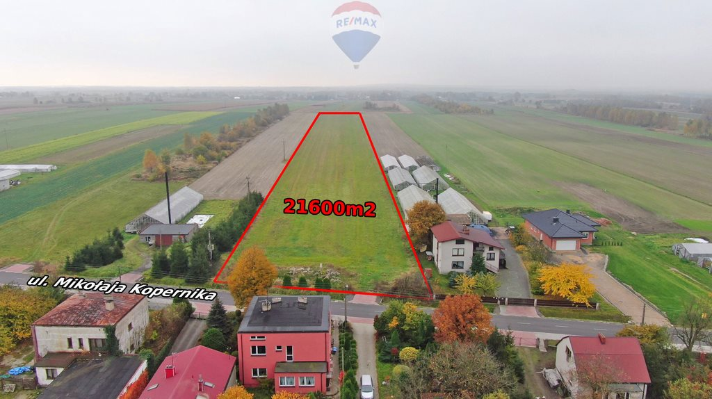 Działka budowlana na sprzedaż Kokawa, Mikołaja Kopernika  21600m2 Foto 2