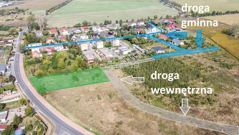 Działka budowlana na sprzedaż Jankowice, Wiśniowa  2100m2 Foto 1