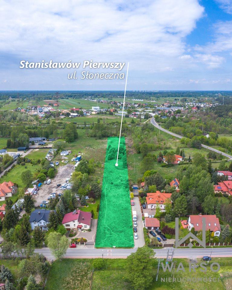 Działka budowlana na sprzedaż Stanisławów Pierwszy, Słoneczna  5440m2 Foto 1