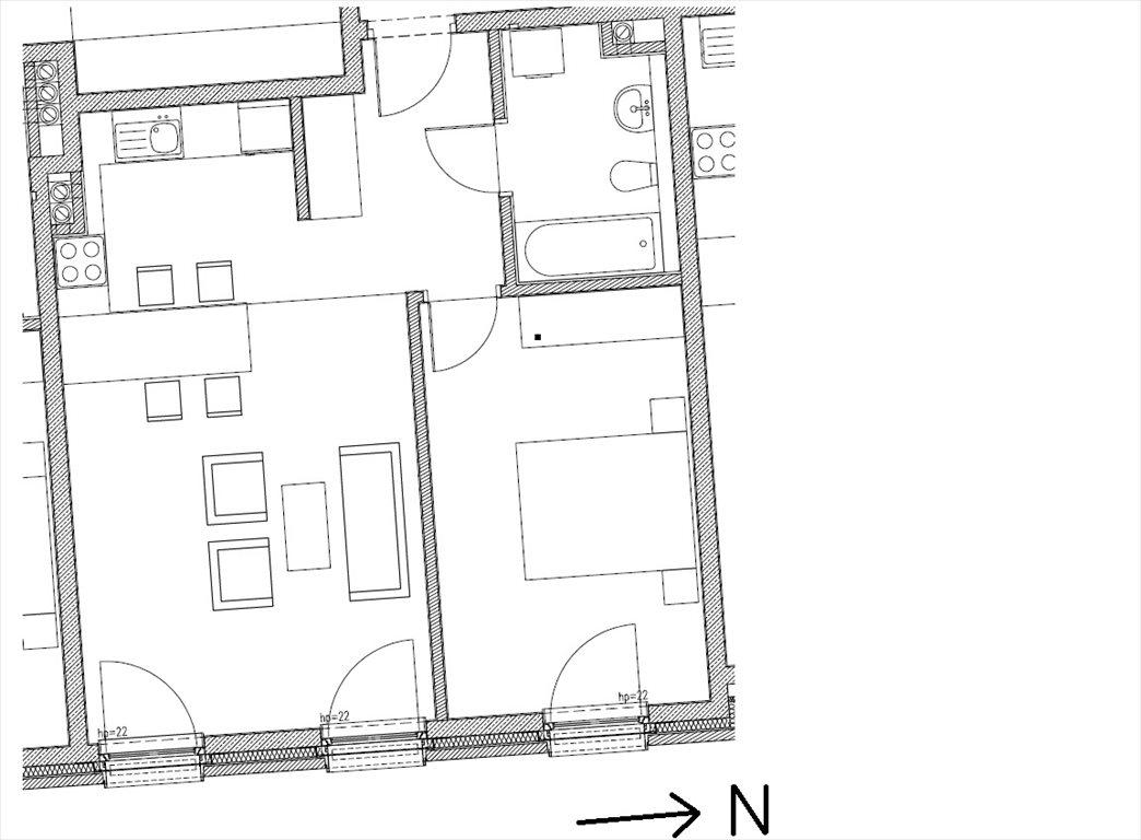 Mieszkanie dwupokojowe na sprzedaż Kraków, Stare Miasto, Szlak  53m2 Foto 2