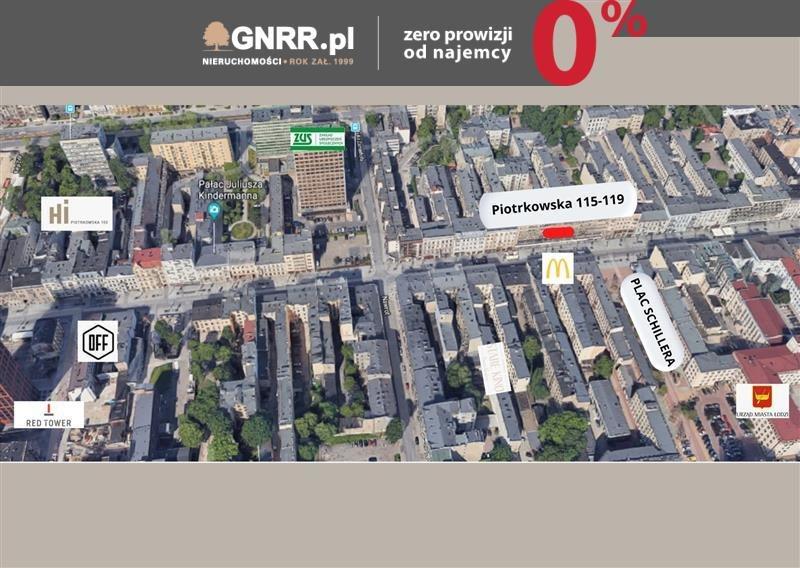 Lokal użytkowy na wynajem Łódź, Centrum, Centrum, PIOTRKOWSKA 115/119  160m2 Foto 4