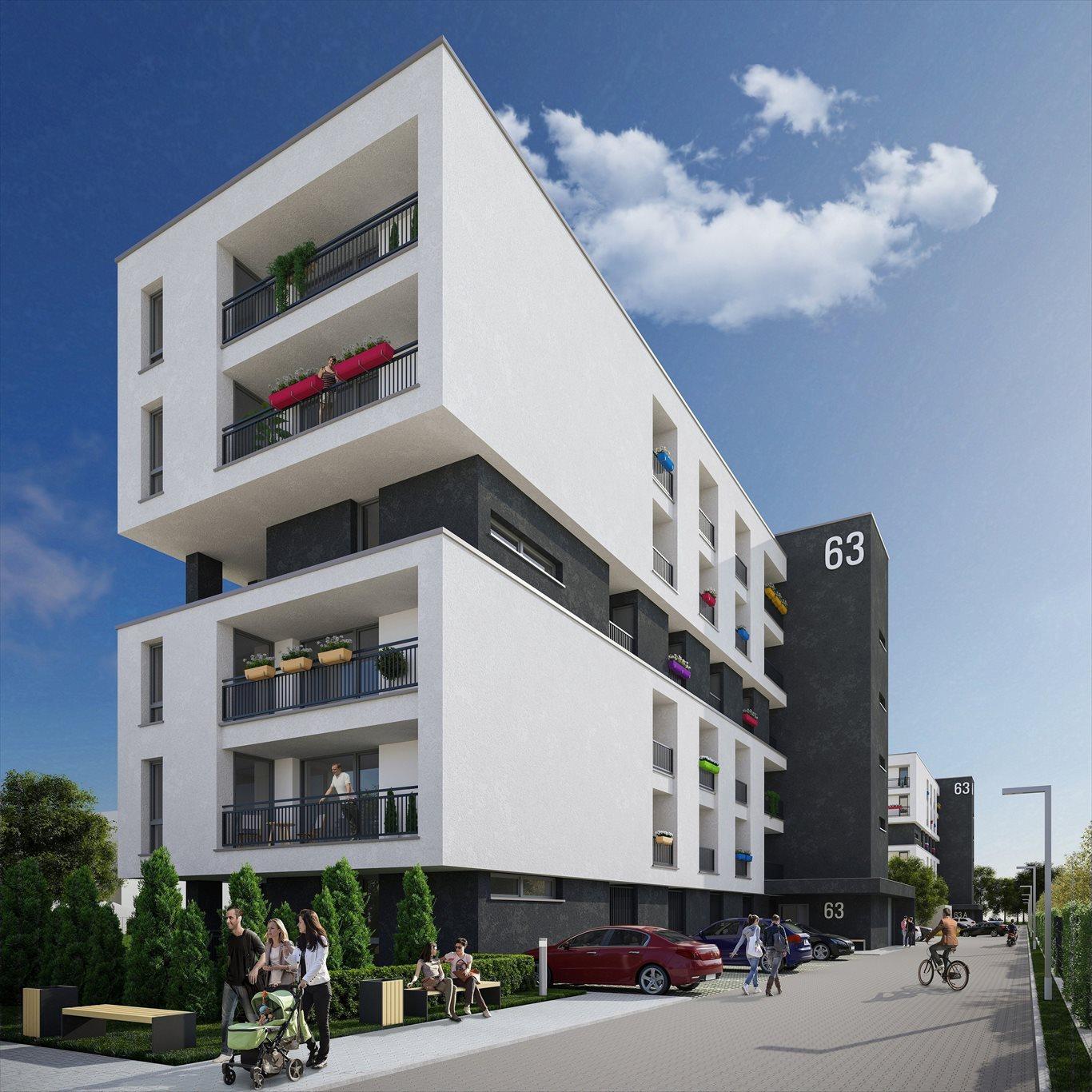 Mieszkanie dwupokojowe na sprzedaż Tychy, Śródmieście, Piłsudskiego 63A  44m2 Foto 1