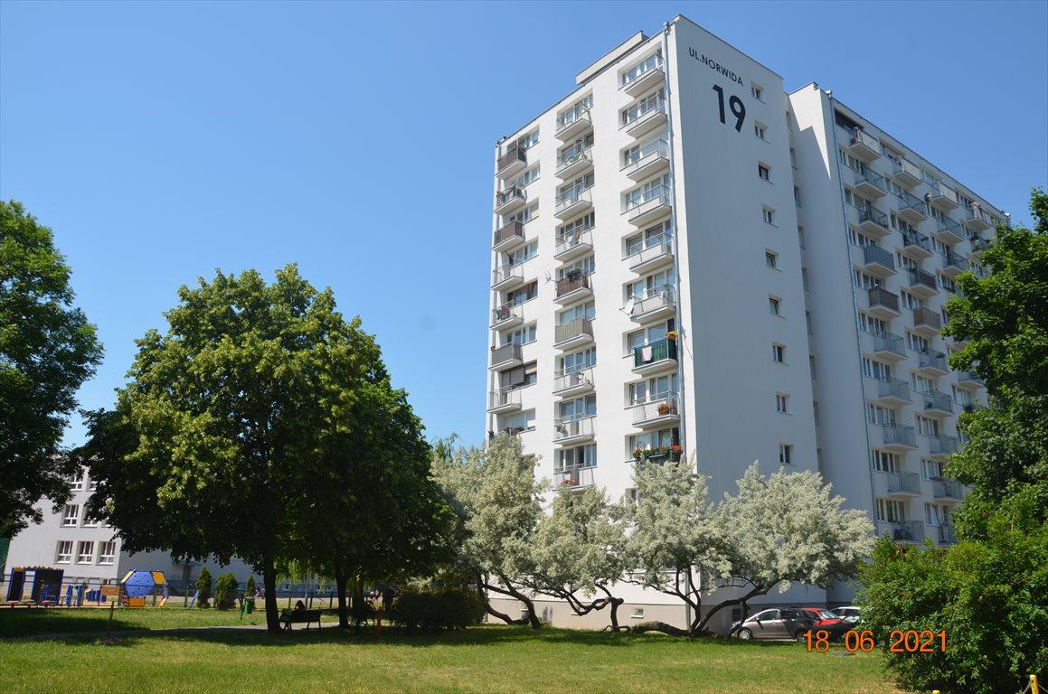 Mieszkanie trzypokojowe na sprzedaż Poznań, Jeżyce, Cypriana Kamila Norwida 19  48m2 Foto 2