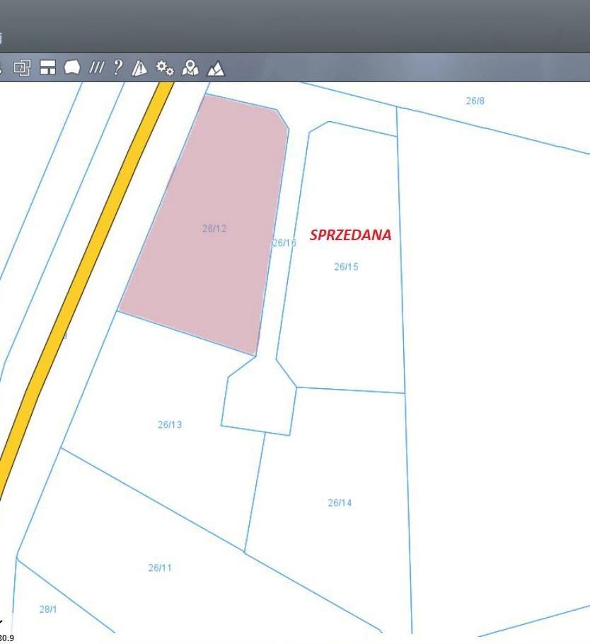 Działka budowlana na sprzedaż Węzina, Węzina  1677m2 Foto 3