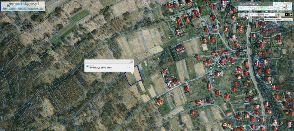 Działka rolna pod dzierżawę Iwonicz, Zadwór  2400m2 Foto 1