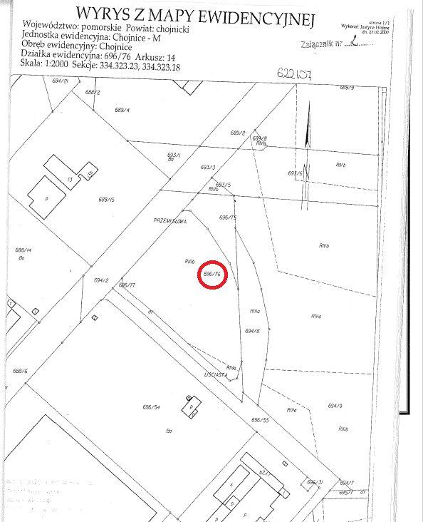 Działka komercyjna na sprzedaż Chojnice, Przemysłowa  10928m2 Foto 1