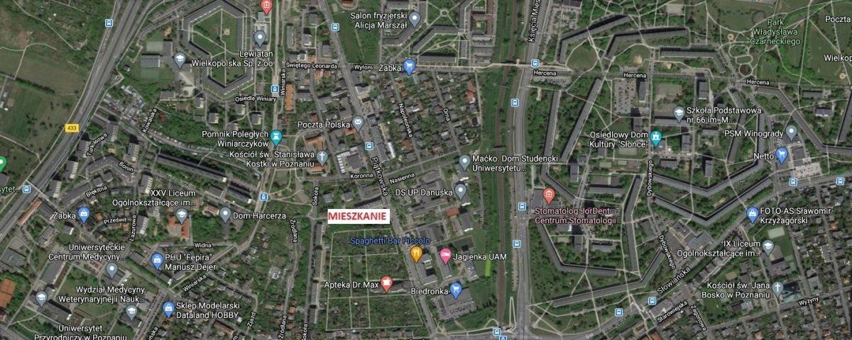 Mieszkanie trzypokojowe na sprzedaż Poznań, Jeżyce, Winiary  58m2 Foto 5