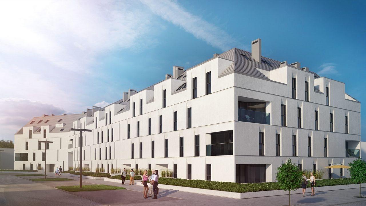 Mieszkanie dwupokojowe na sprzedaż Siechnice  42m2 Foto 1