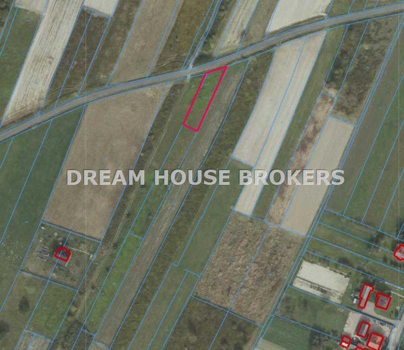 Działka rolna na sprzedaż Strażów  800m2 Foto 3