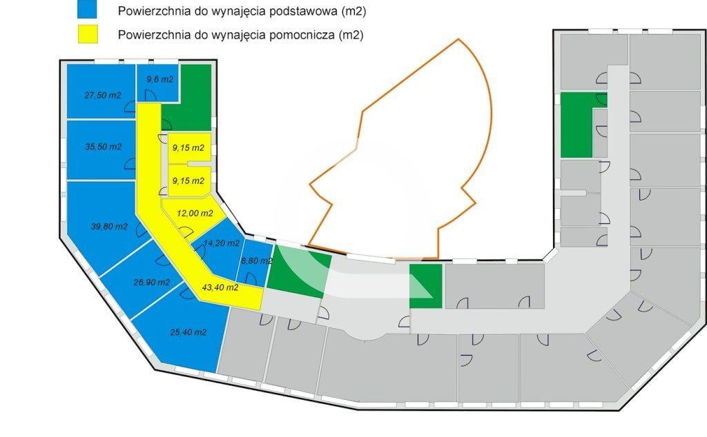 Lokal użytkowy na wynajem Gdynia, Śródmieście, Śląska  261m2 Foto 2