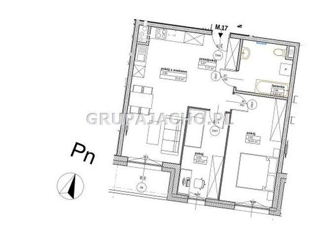 Mieszkanie trzypokojowe na sprzedaż Chorzów, Chorzów II, Śródmieście  61m2 Foto 2