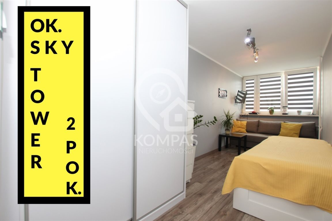 Mieszkanie dwupokojowe na sprzedaż WROCŁAW, Fabryczna  45m2 Foto 1