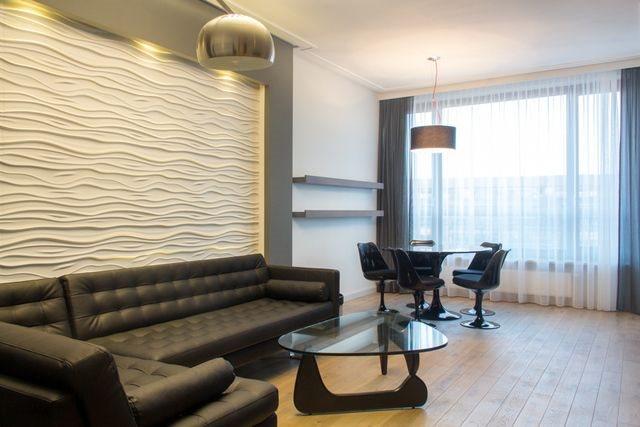 Luksusowe mieszkanie trzypokojowe na wynajem Warszawa, Śródmieście, Powiśle  88m2 Foto 4