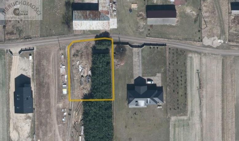 Działka budowlana na sprzedaż Łaziska  1060m2 Foto 1