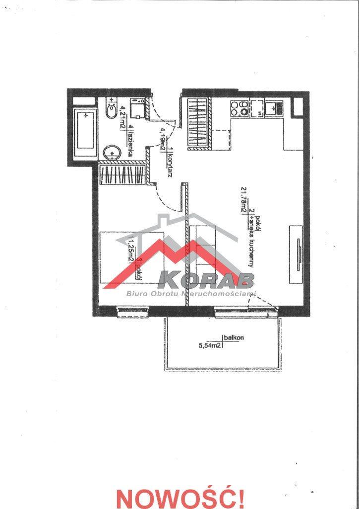 Mieszkanie dwupokojowe na sprzedaż Warszawa, Praga-Południe, Żupnicza  42m2 Foto 1