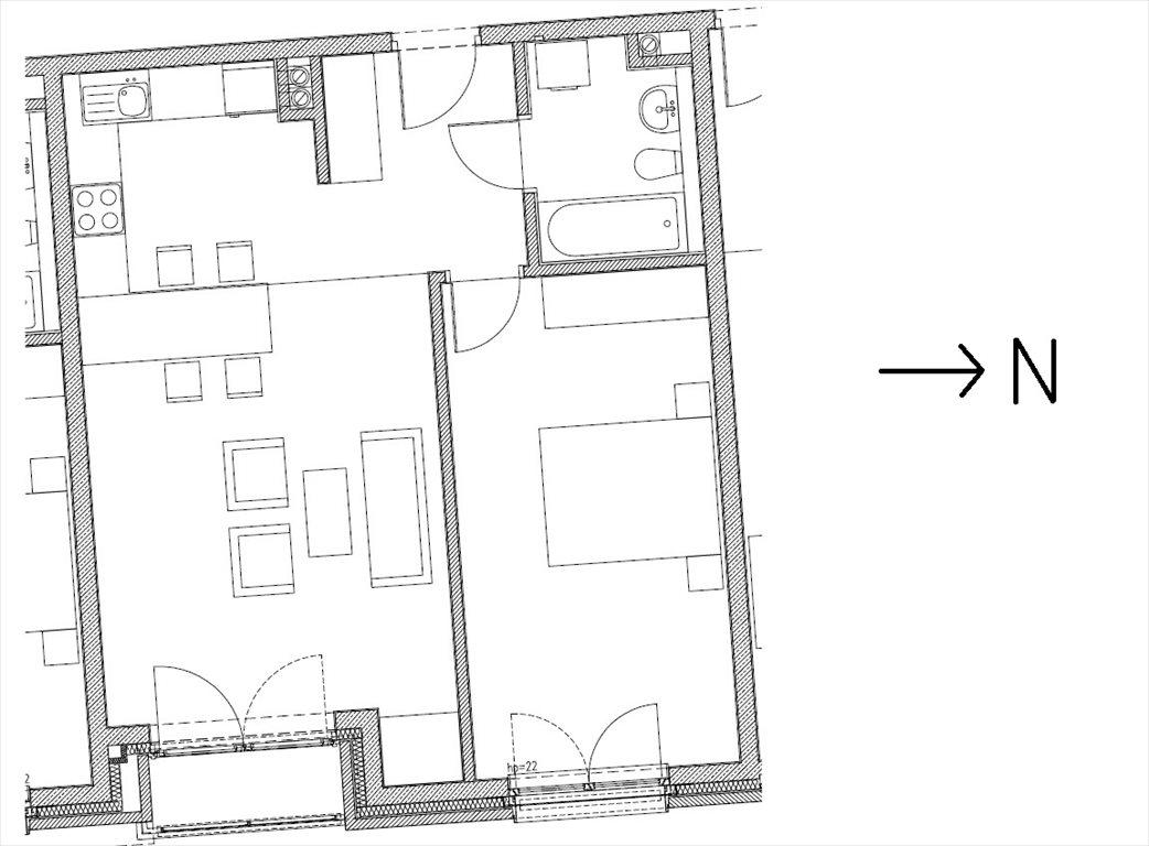 Mieszkanie dwupokojowe na sprzedaż Kraków, Stare Miasto, Szlak  56m2 Foto 2