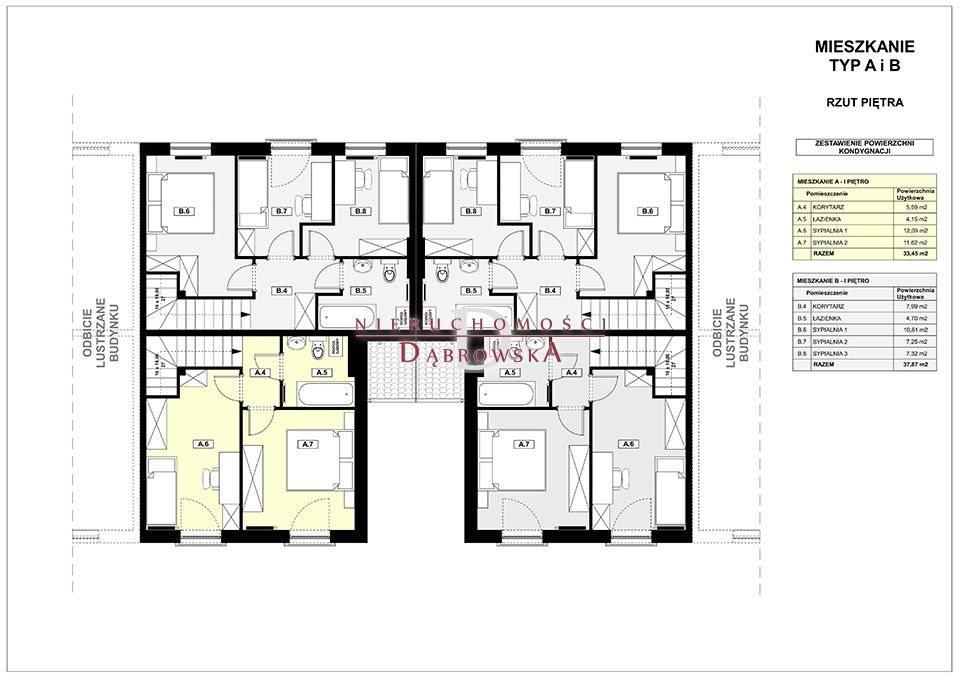 Mieszkanie czteropokojowe  na sprzedaż Czmoń  75m2 Foto 5