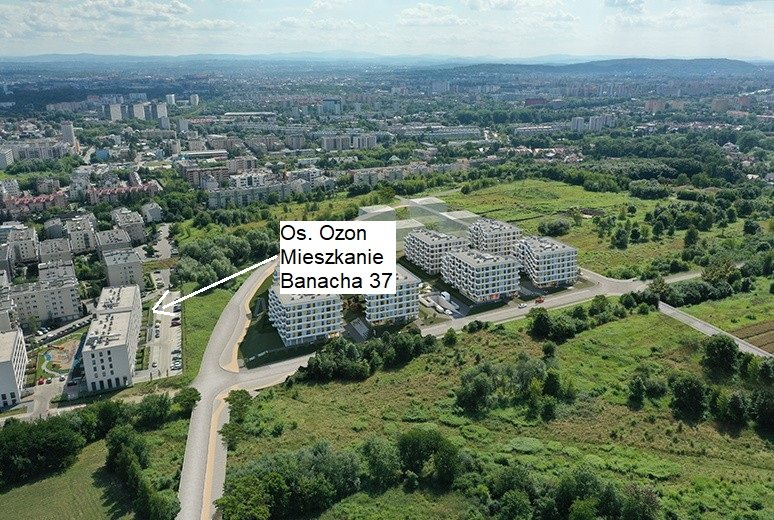 Mieszkanie dwupokojowe na sprzedaż Kraków, Prądnik Biały, Banacha 37  41m2 Foto 2