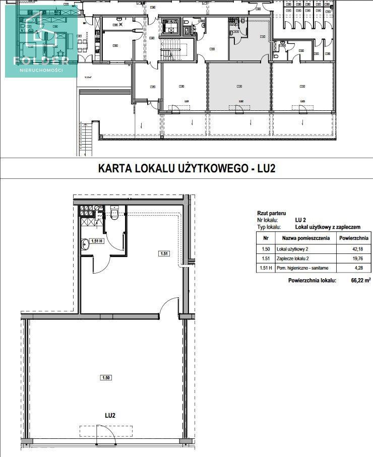 Lokal użytkowy na sprzedaż Rzeszów, Staromieście, Lubelska 63  52m2 Foto 12