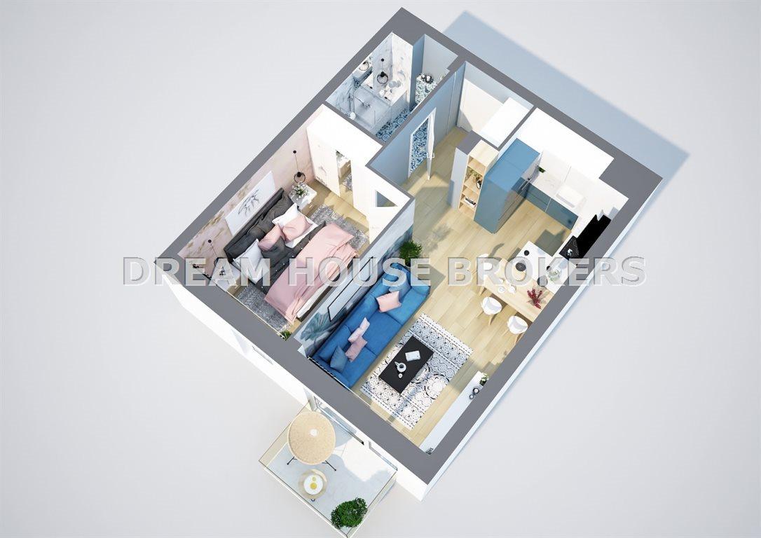 Mieszkanie dwupokojowe na sprzedaż Rzeszów, Krakowska  36m2 Foto 5