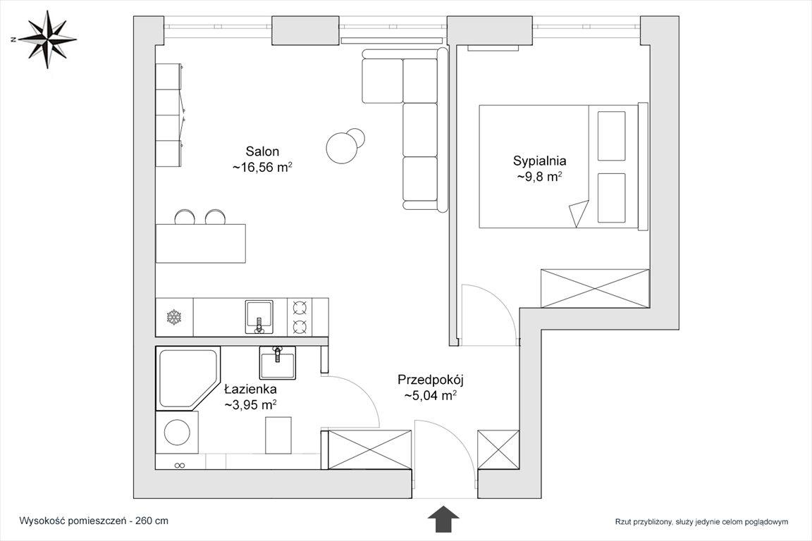 Mieszkanie dwupokojowe na sprzedaż Warszawa, Praga-Północ, Konopacka  35m2 Foto 2