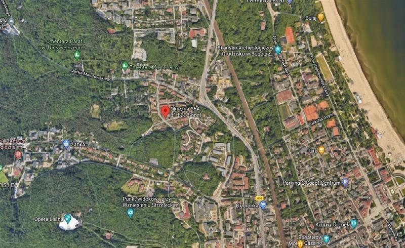 Działka budowlana na sprzedaż Sopot, Górny, OKRĘŻNA  949m2 Foto 9