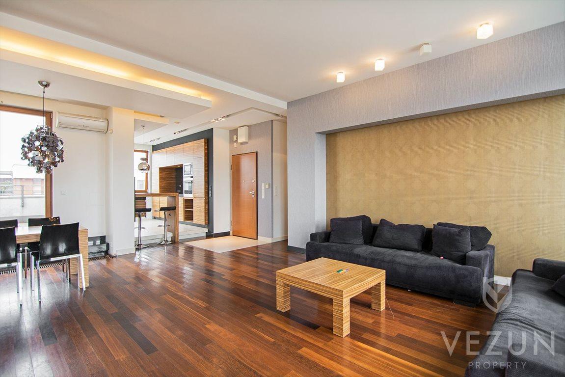 Luksusowe mieszkanie czteropokojowe  na sprzedaż Warszawa, Wilanów, Penthouse 147 mkw, 4 pokoje, 2 tarasy łącznie 107 mkw  147m2 Foto 1