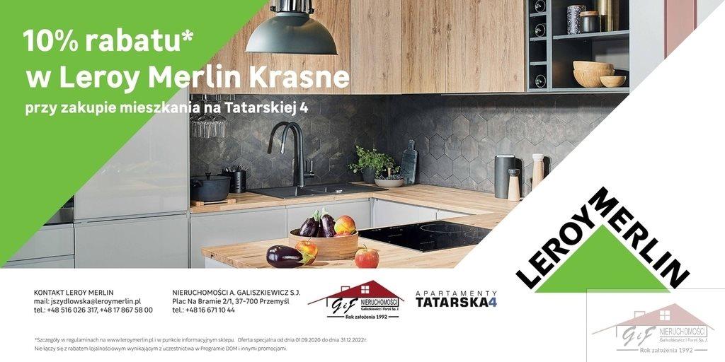 Mieszkanie trzypokojowe na sprzedaż Przemyśl, Tatarska  52m2 Foto 12