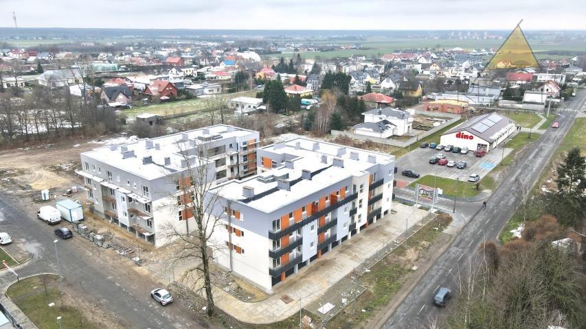 Mieszkanie trzypokojowe na sprzedaż Leszno, Myśliwska  52m2 Foto 1