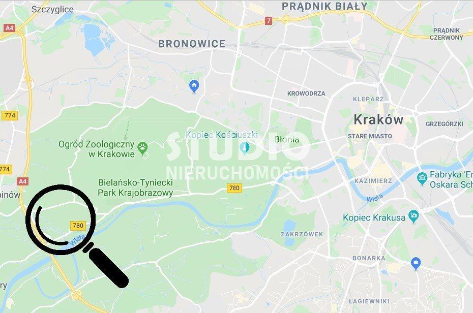 Działka budowlana na sprzedaż Kraków, Bielany, Dworna  730m2 Foto 1