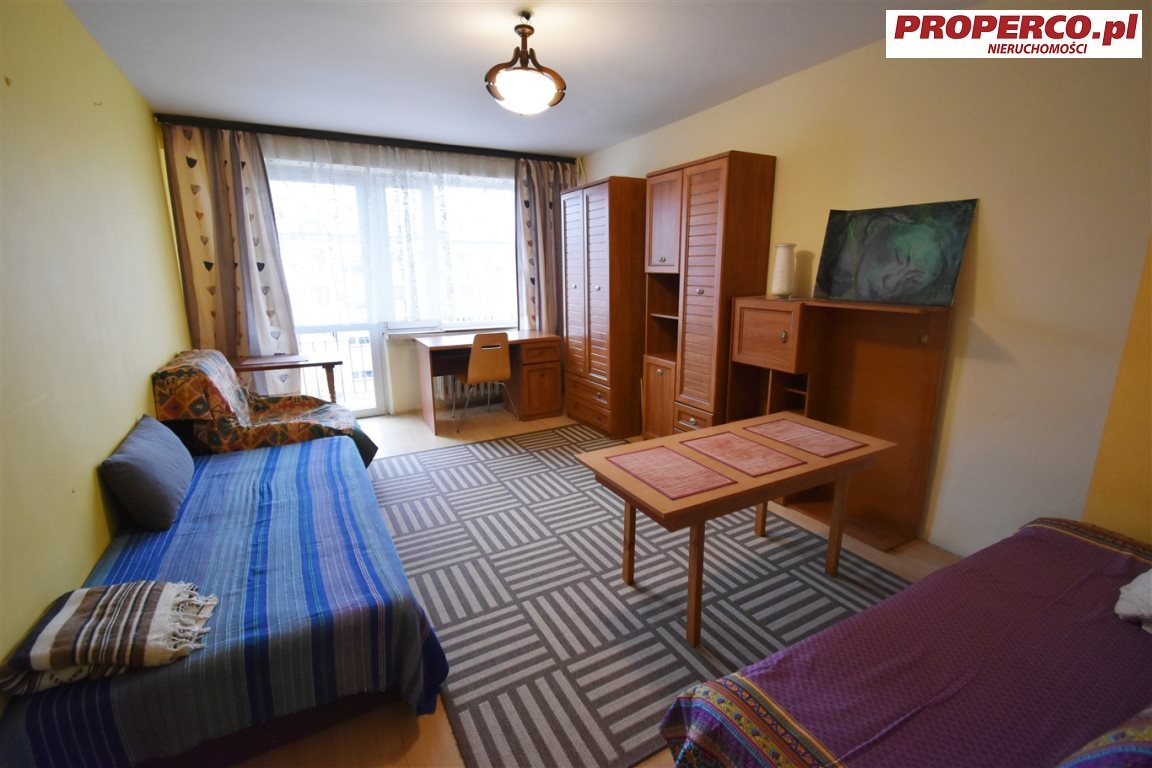 Mieszkanie dwupokojowe na wynajem Kielce, Bocianek, Norwida  50m2 Foto 3