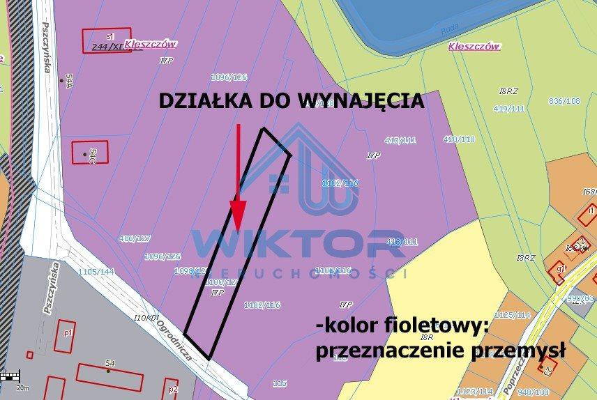 Działka przemysłowo-handlowa pod dzierżawę Żory, Kleszczów, Ogrodnicza  4020m2 Foto 7