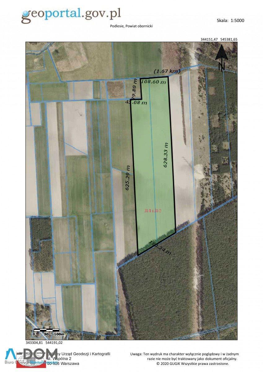 Działka rolna na sprzedaż Podlesie  100000m2 Foto 5