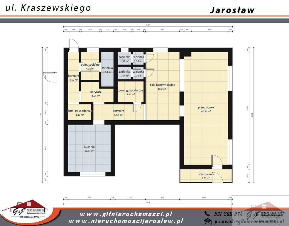 Lokal użytkowy na sprzedaż Jarosław, Józefa Ignacego Kraszewskiego  119m2 Foto 12