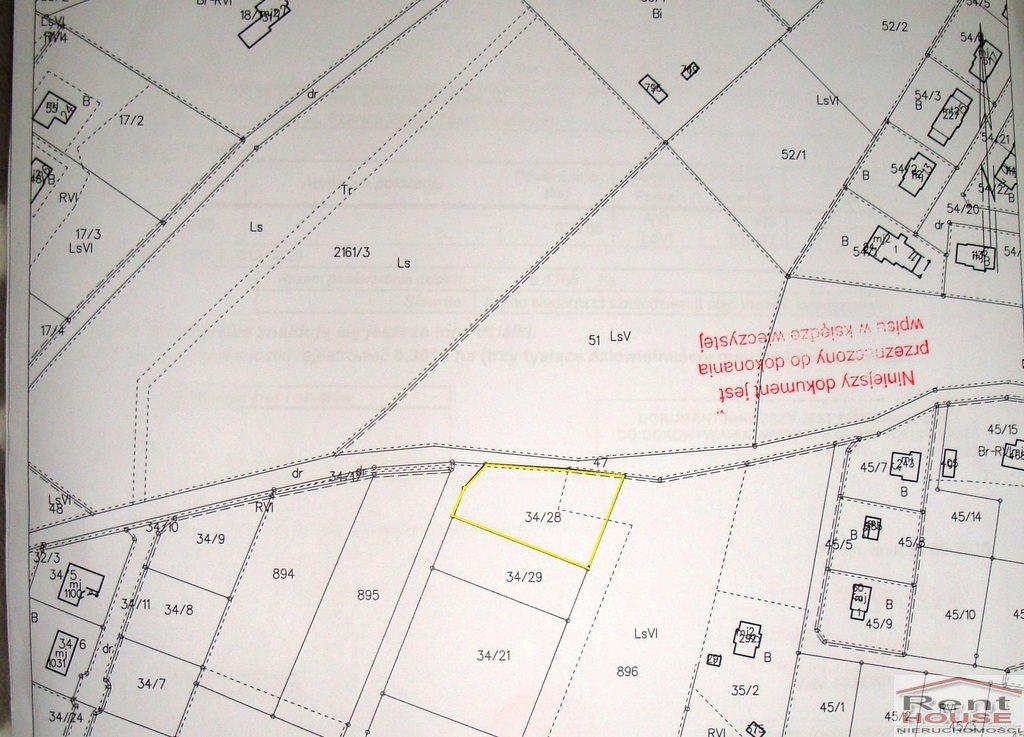 Działka budowlana na sprzedaż Osiek Nad Wisłą  1765m2 Foto 1