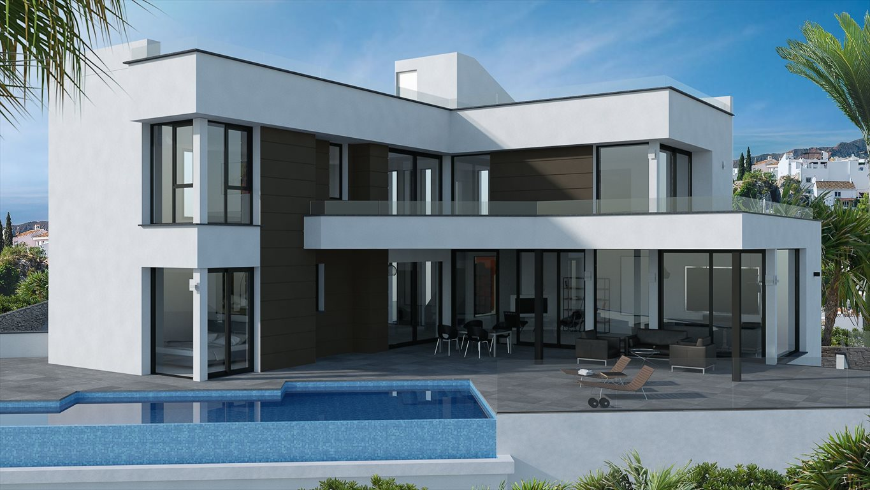 Luksusowy dom na sprzedaż Hiszpania, Calpe, Les Bassetes, Urbanización Les Bassetes 6C bis  1292m2 Foto 1