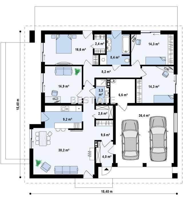Dom na sprzedaż Radlna  144m2 Foto 3