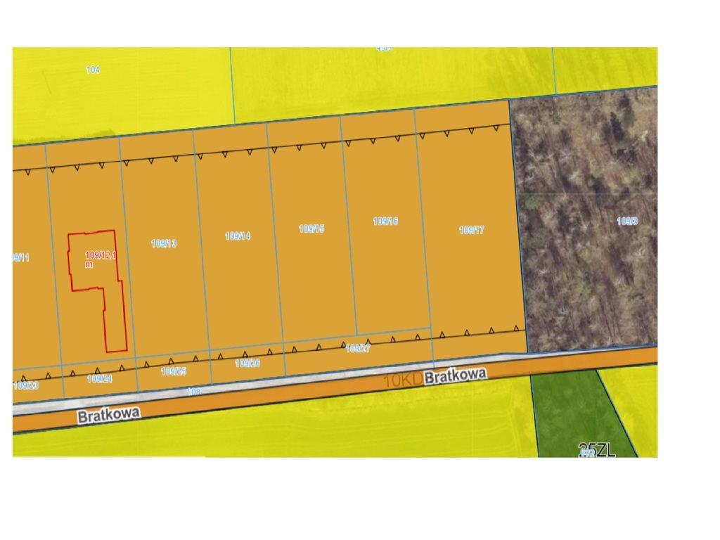Działka budowlana na sprzedaż Czmoniec  3489m2 Foto 2
