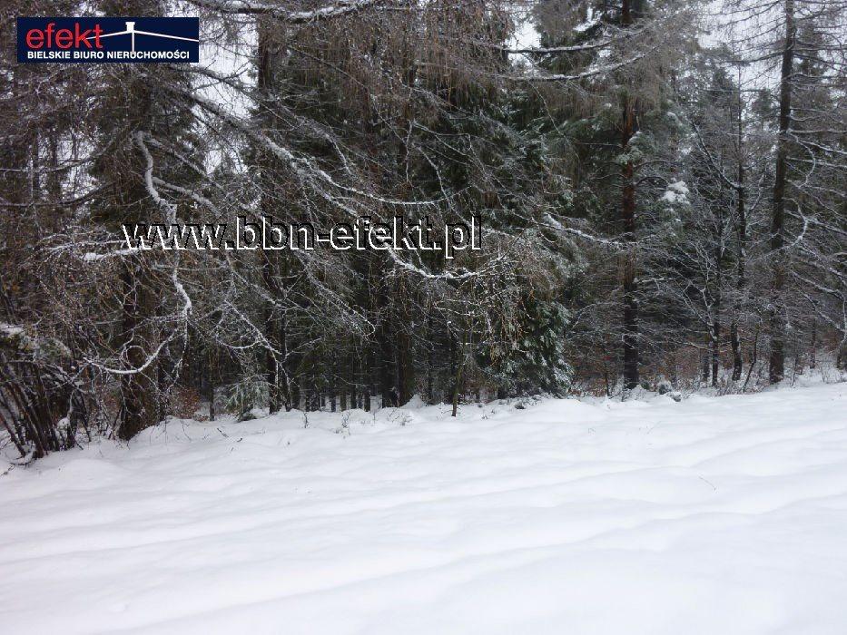 Działka leśna na sprzedaż Międzybrodzie Bialskie  3600m2 Foto 7