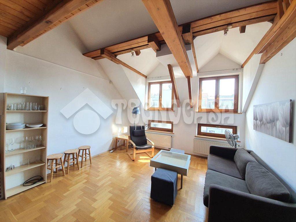 Mieszkanie trzypokojowe na wynajem Kraków, Stare Miasto, Dwernickiego  52m2 Foto 8