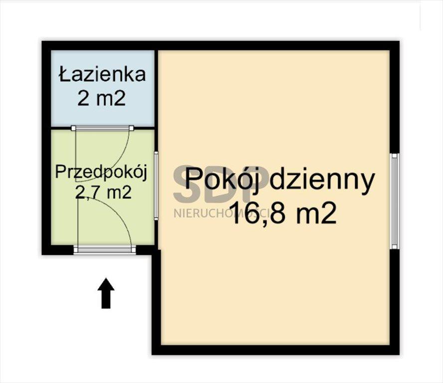 Kawalerka na sprzedaż Wrocław, Stare Miasto, Stare Miasto, Plac Legionów  23m2 Foto 5