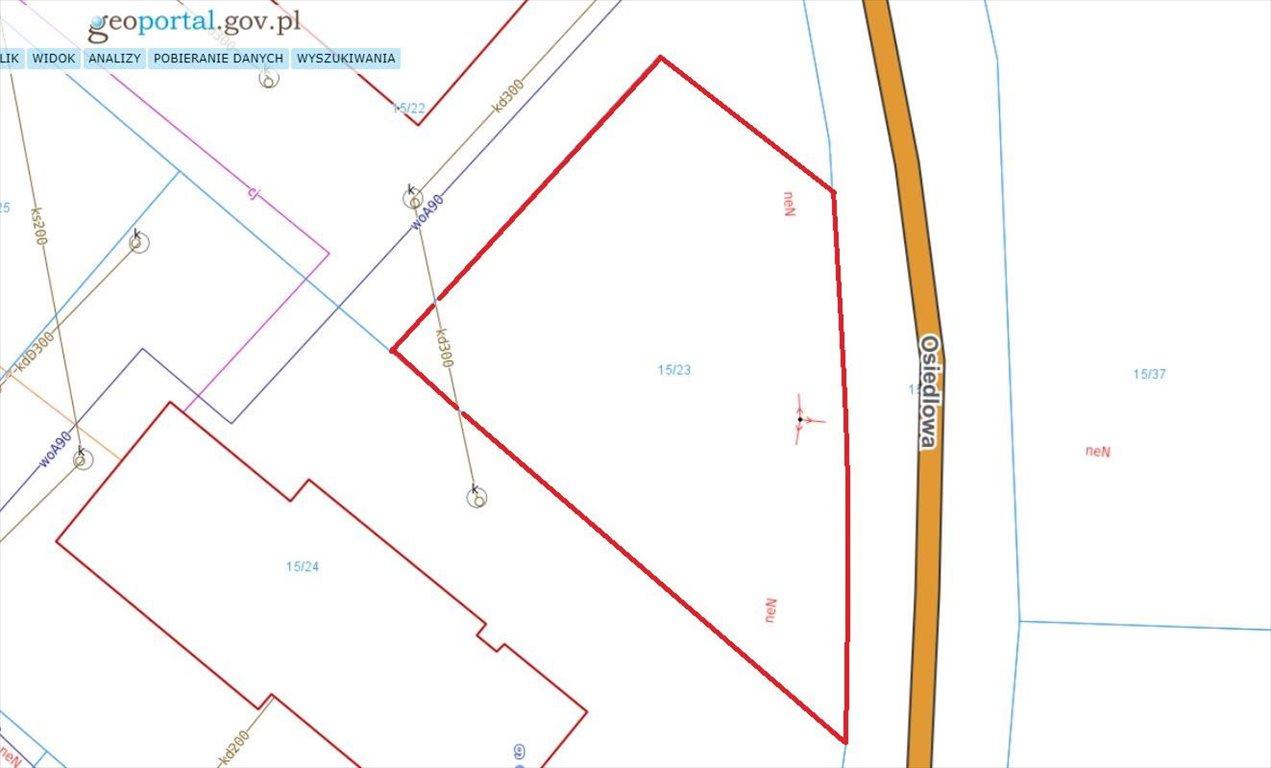 Działka budowlana na sprzedaż Gronowo Elbląskie, Osiedlowa  633m2 Foto 5