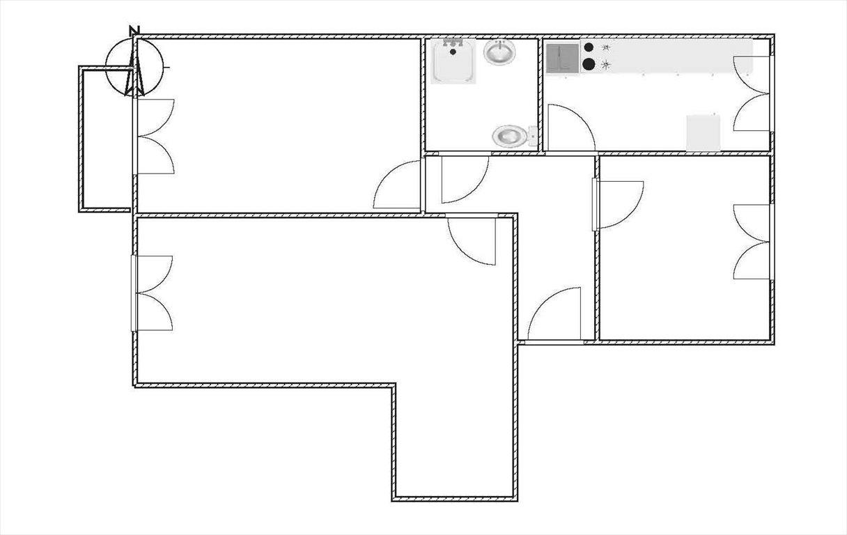 Mieszkanie trzypokojowe na sprzedaż Mielec, Sękowskiego  69m2 Foto 3