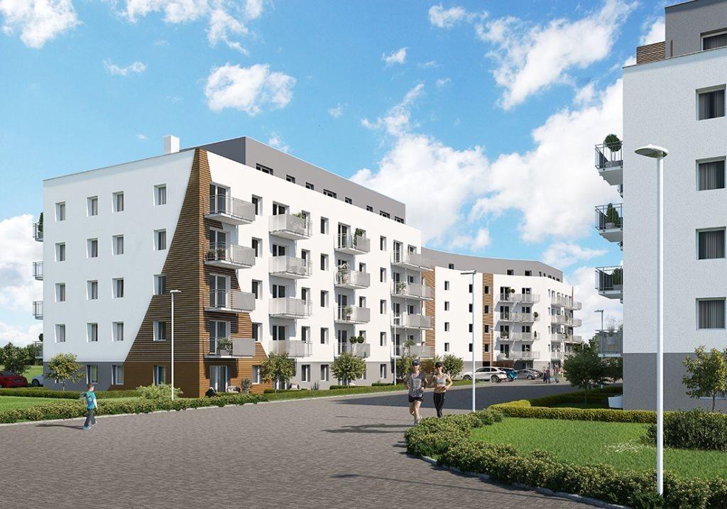 Mieszkanie dwupokojowe na sprzedaż Poznań, Chartowo, Chartowo, abp. Walentego Dymka  42m2 Foto 2