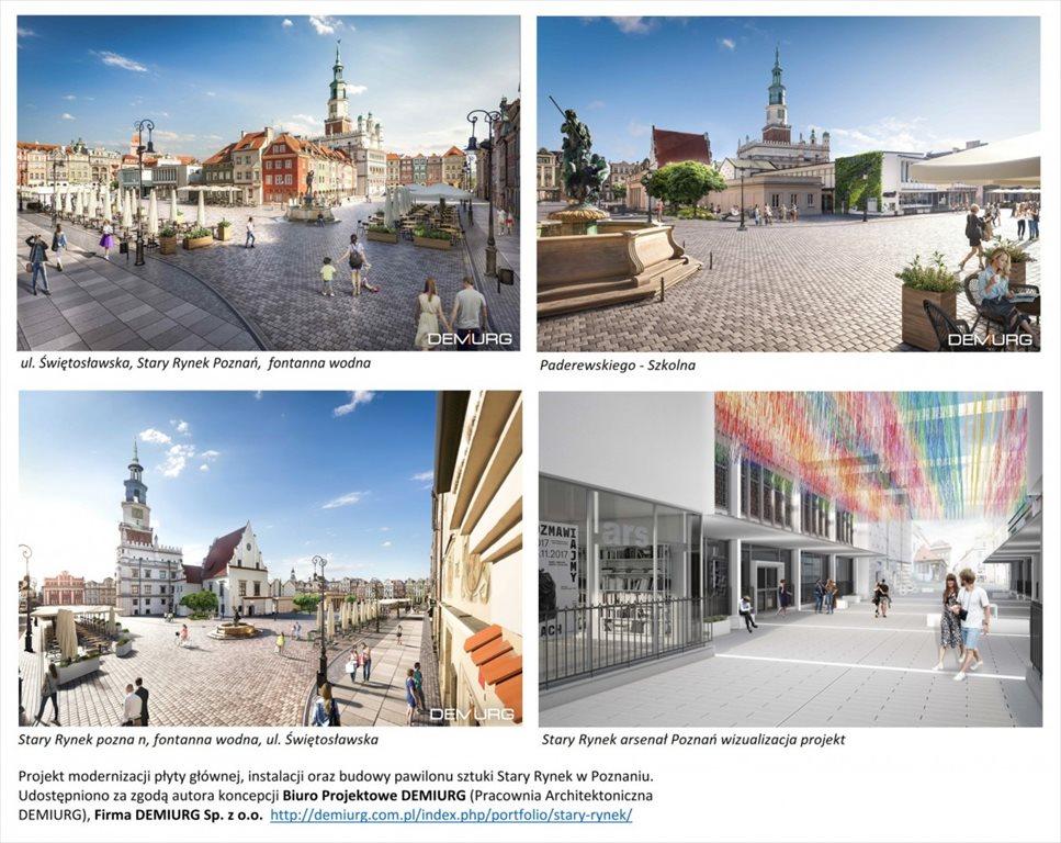 Mieszkanie dwupokojowe na sprzedaż Poznań, Centrum, ul. Półwiejska  33m2 Foto 12