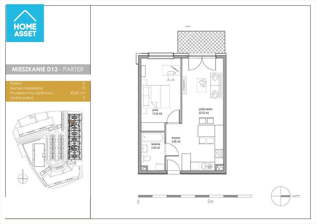 Mieszkanie dwupokojowe na sprzedaż Kowale, Zeusa  44m2 Foto 3